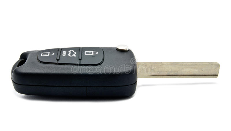 Car key and alarm system charm royalty free stock image