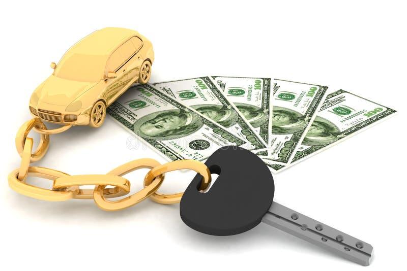 Download Car Key And Dollars Stock Photos - Image: 22133093