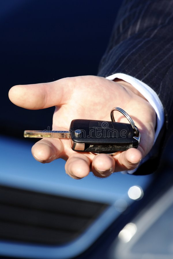 car key to buy royalty free stock photos