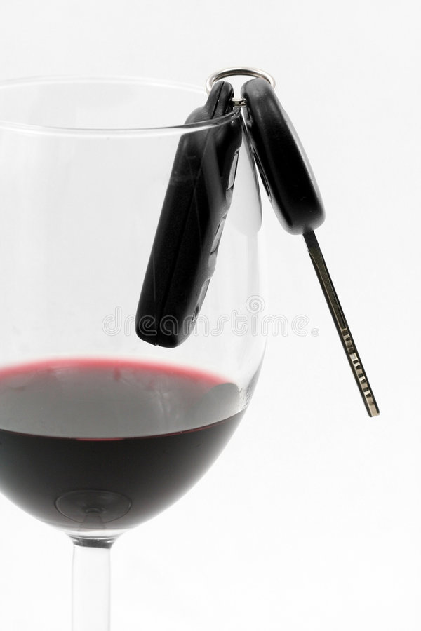 Download Car Key In A Wine Glass, Drunk Driver Royalty Free Stock Images - Image: 1508349