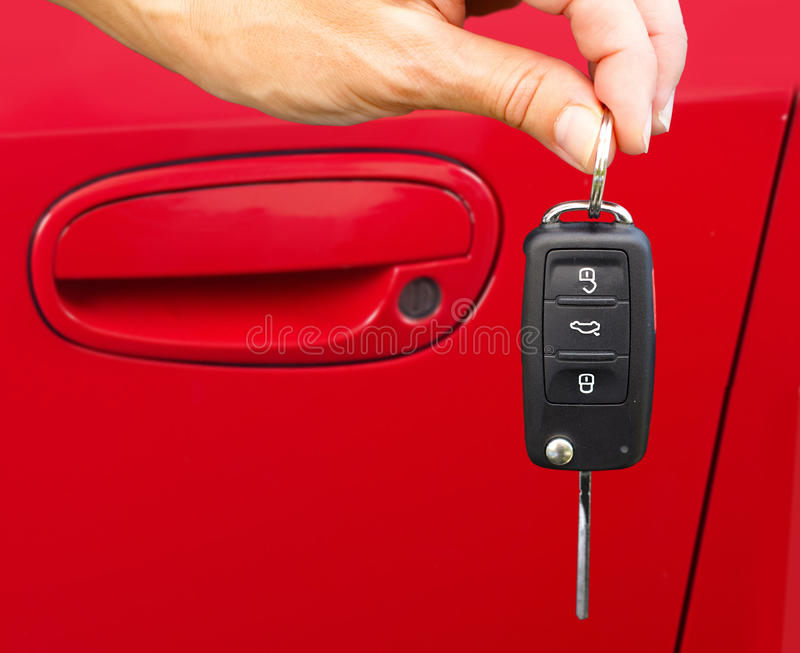 Download Car keys. stock photo. Image of security, show, hand - 35581388