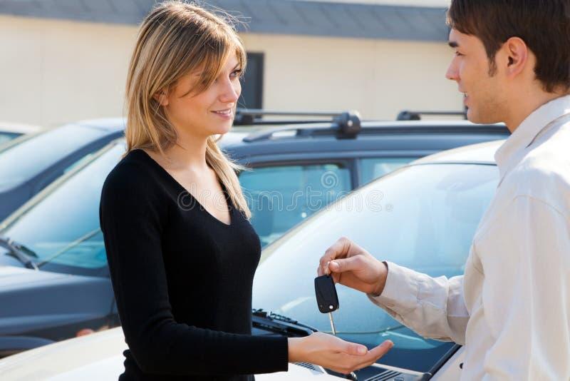 car keys στοκ εικόνα