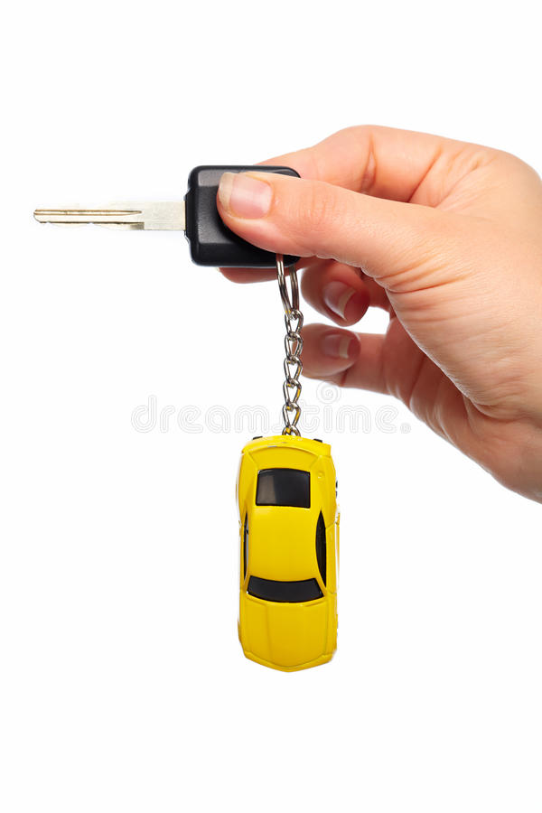 Car keys. Auto dealership and rental concept background stock image