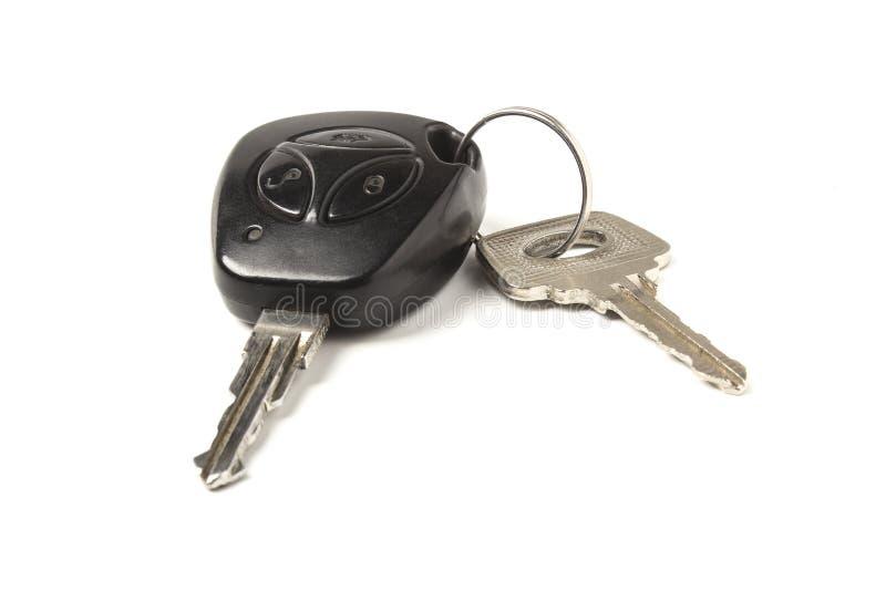 Car keys. Isolated on white background stock illustration