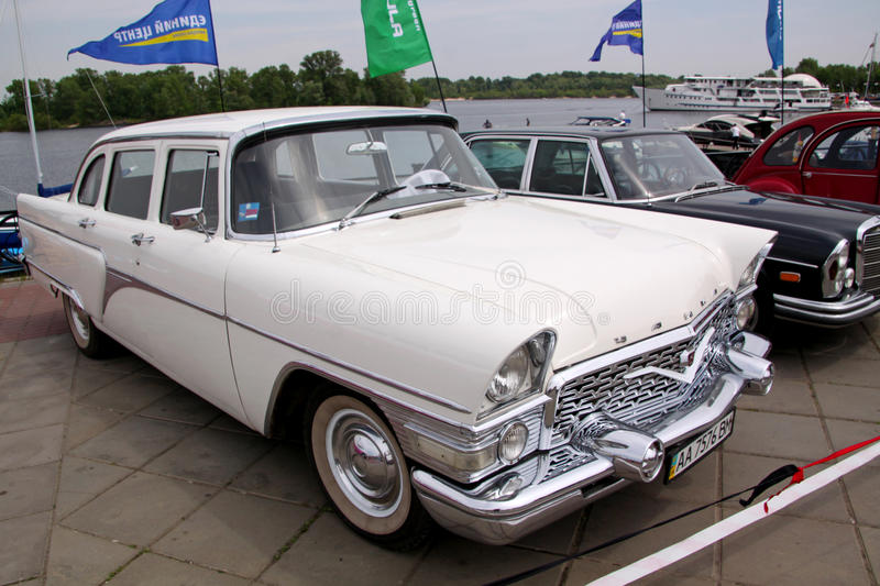 Download GAZ 13 Chaika (Soviet-made Limousine) Editorial Stock Photo - Image: 37452078