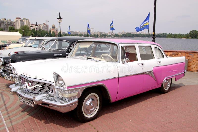 Download GAZ 13 Chaika (Soviet-made Limousine) Editorial Stock Photo - Image: 37452088