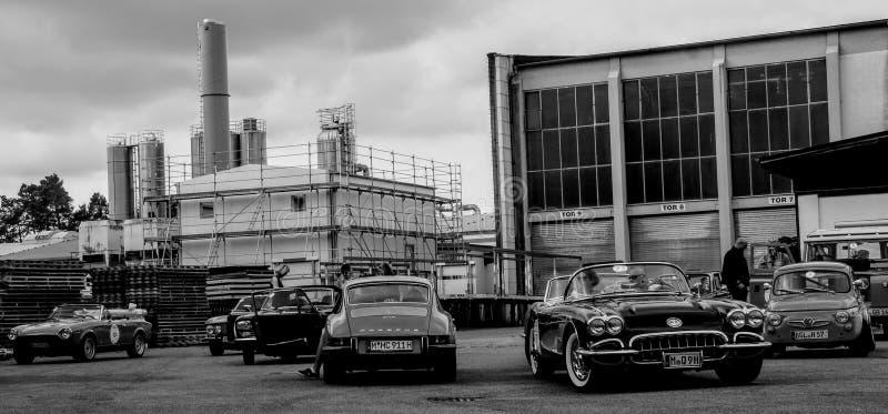 Car, Land Vehicle, Vehicle, Black And White stock photos