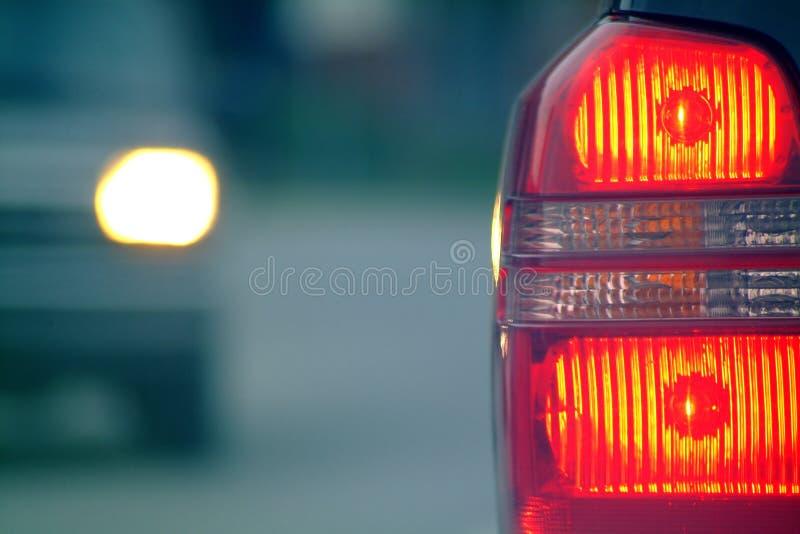 Car light. Close-up royalty free stock photography
