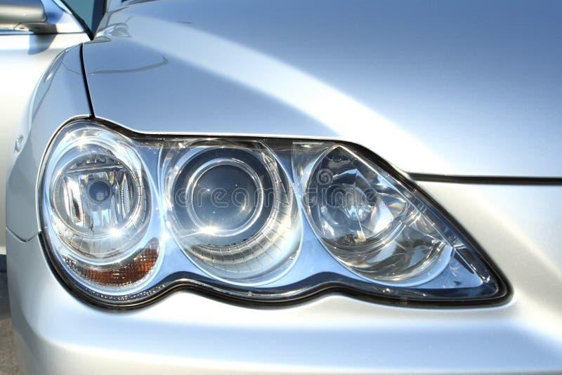 Car light. A modern car optical light stock photography