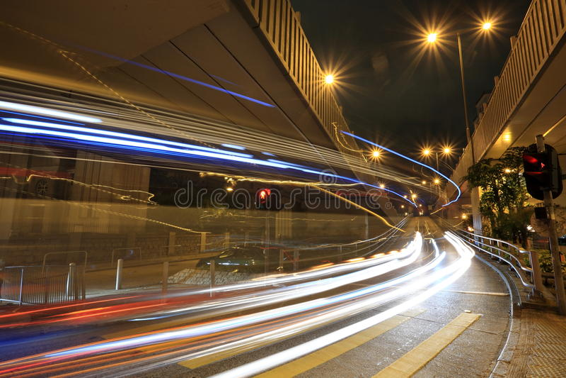 Download Car Light Blur Stock Photography - Image: 13042672