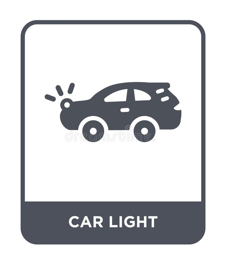 car light icon in trendy design style. car light icon isolated on white background. car light vector icon simple and modern flat vector illustration
