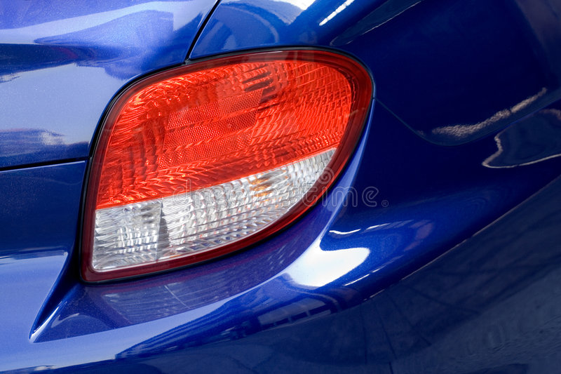 Car lights royalty free stock photography
