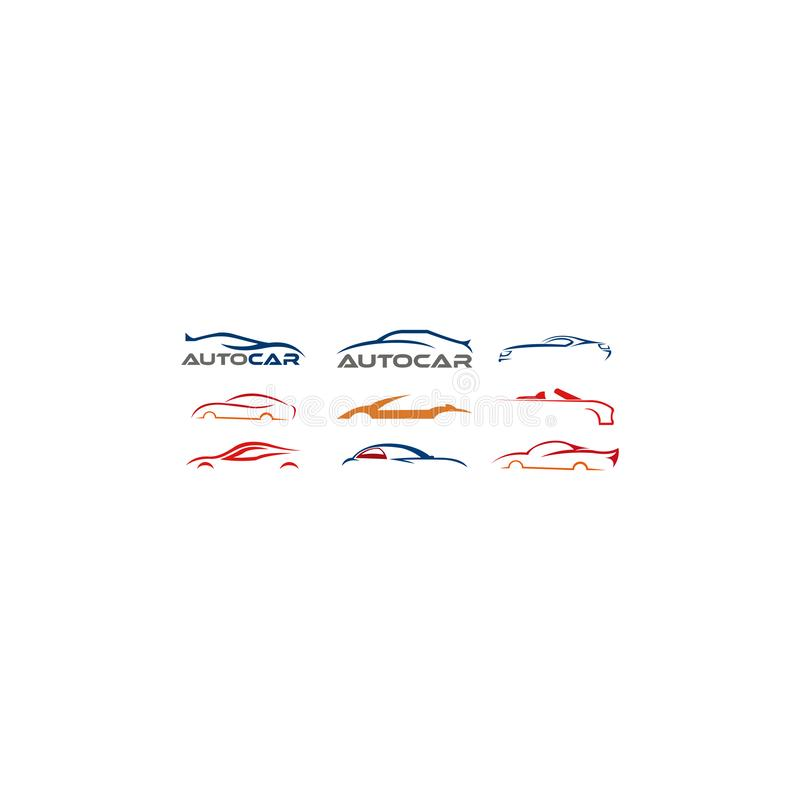 Car logo, set vector automotive logo, set car logo collection, set car logo vector illustration