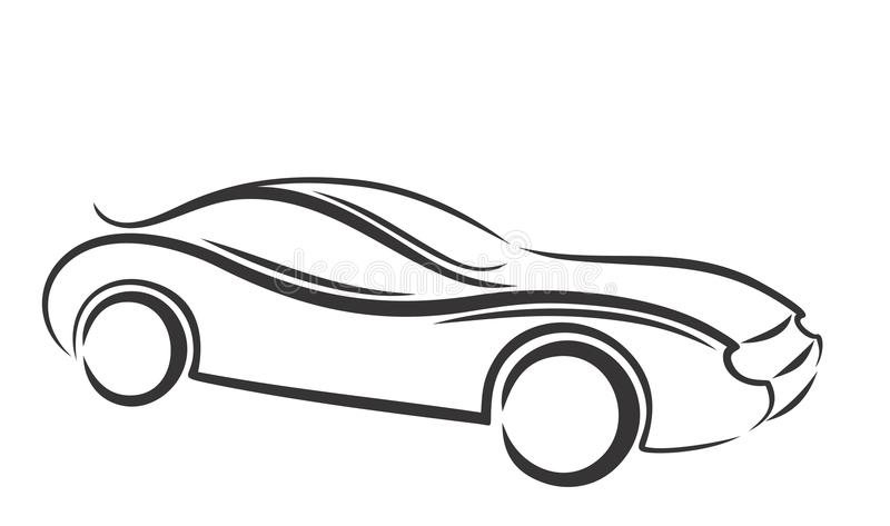 car logo stock vector illustration of sport sports 52332861. Black Bedroom Furniture Sets. Home Design Ideas