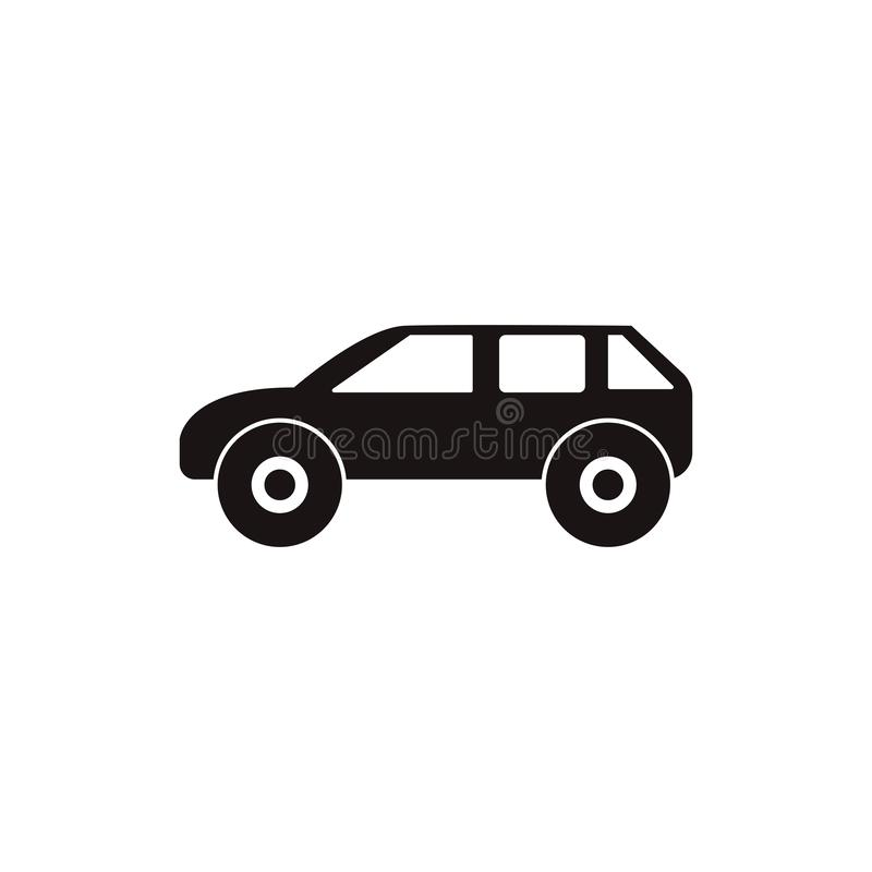 Car logo template icon royalty free illustration