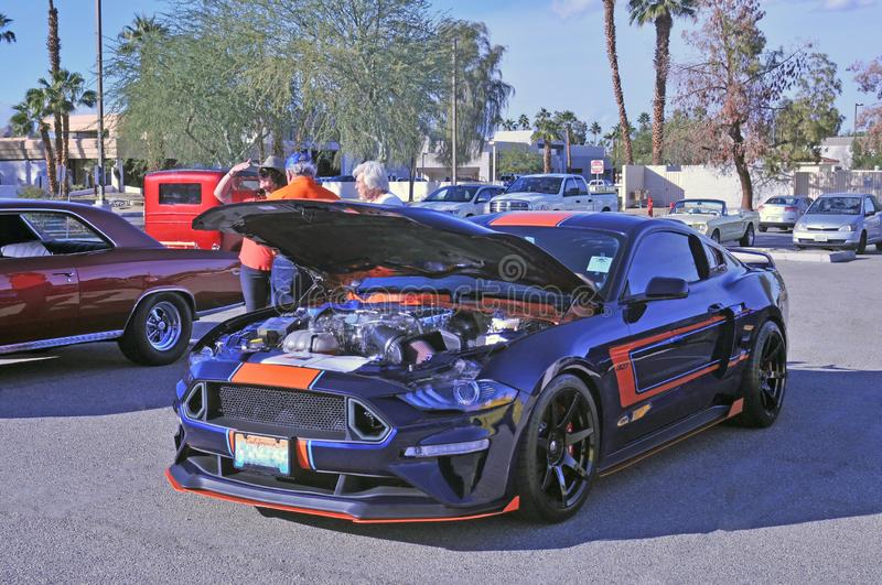 High Performance Boss 307 Ford Mustang royalty free stock photography