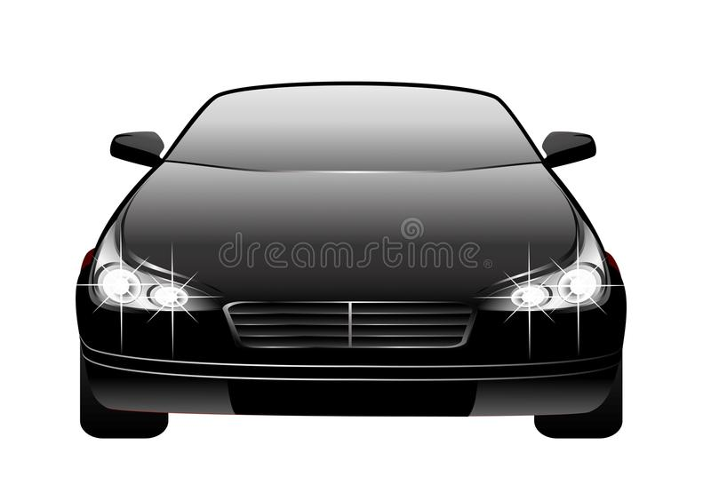 Download Car made in 3d stock vector. Image of path, chrome, elegant - 11126988