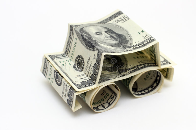 Download The car made of Dollars stock photo. Image of save, business - 3565924