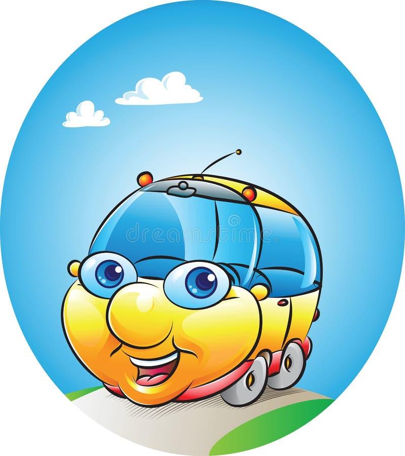 Download Car mascot stock vector. Image of driving, wheel, clean - 31721118