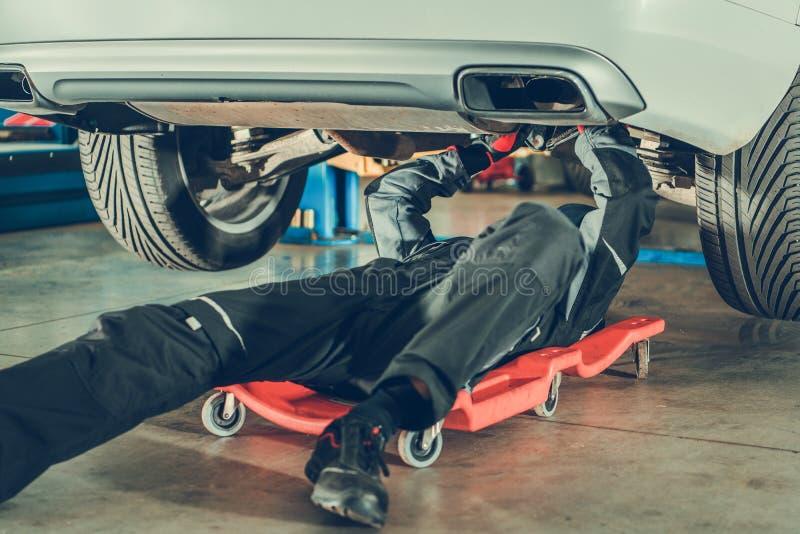 Car Mechanic Repair Vehicle royalty free stock image