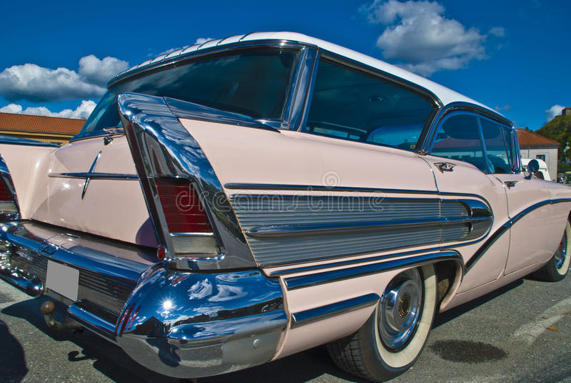 Download Am Car Meeting (buick Century Caballero 1958) Stock Image - Image: 26110169