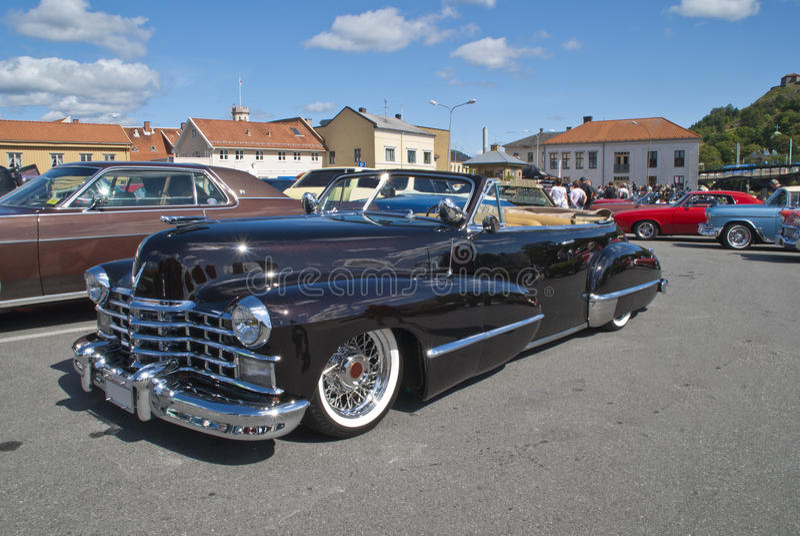 Download Am Car Meeting (cadillac Convertible 1947) Royalty Free Stock Photos - Image: 26110238