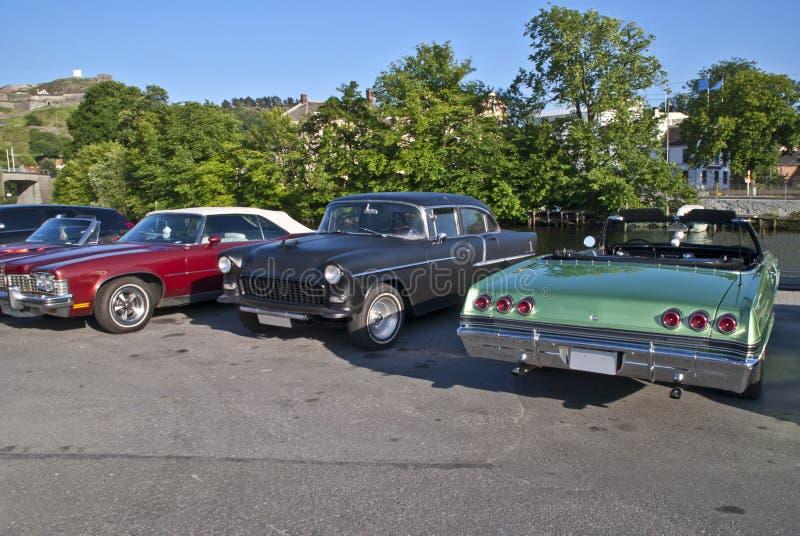 Download Am Car Meeting In Halden City (Chevrolet) Stock Photo - Image: 25412034