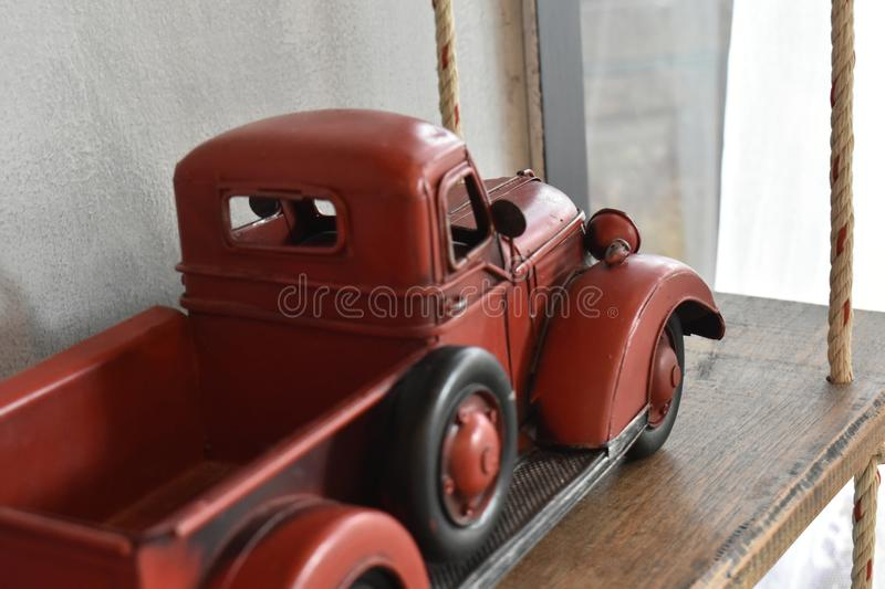 Car models are antiques, and these days are for display. stock photography