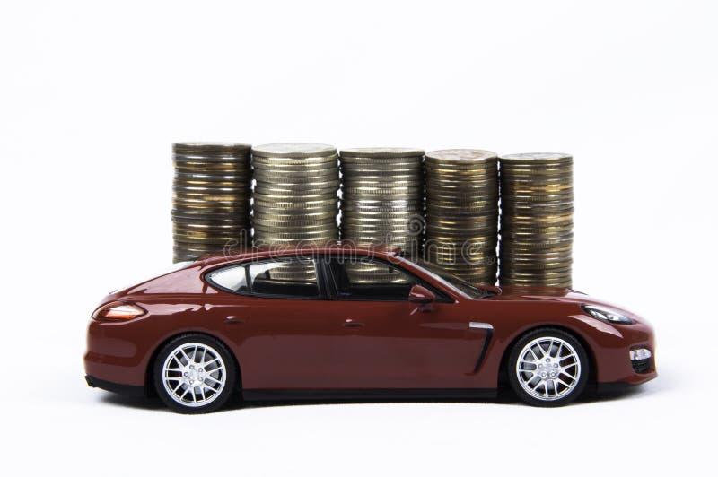 Car&Money zdjęcie stock