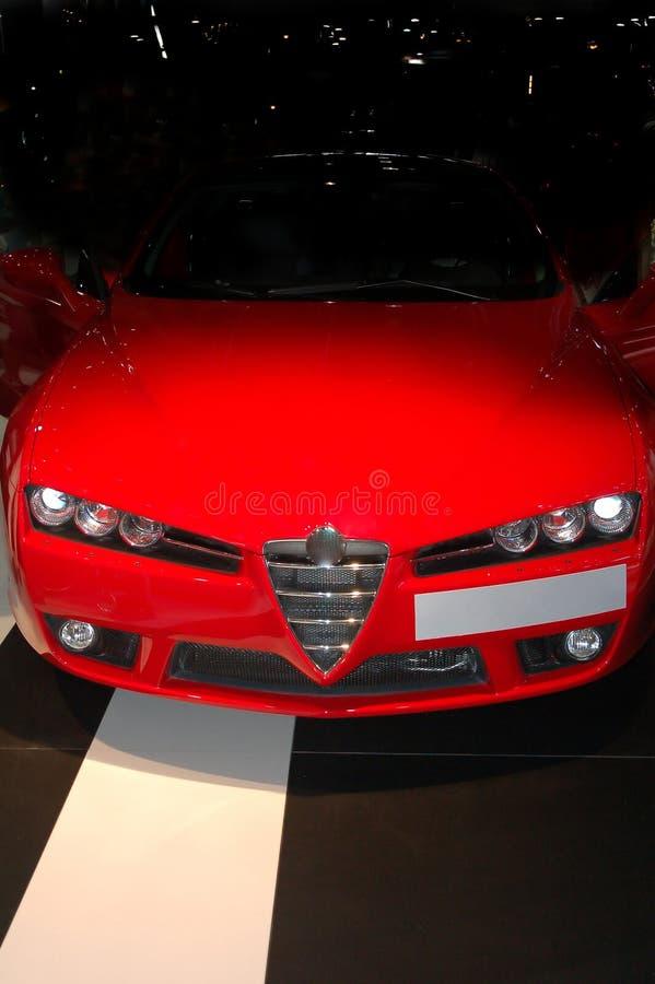 Car at Motor show stock photography
