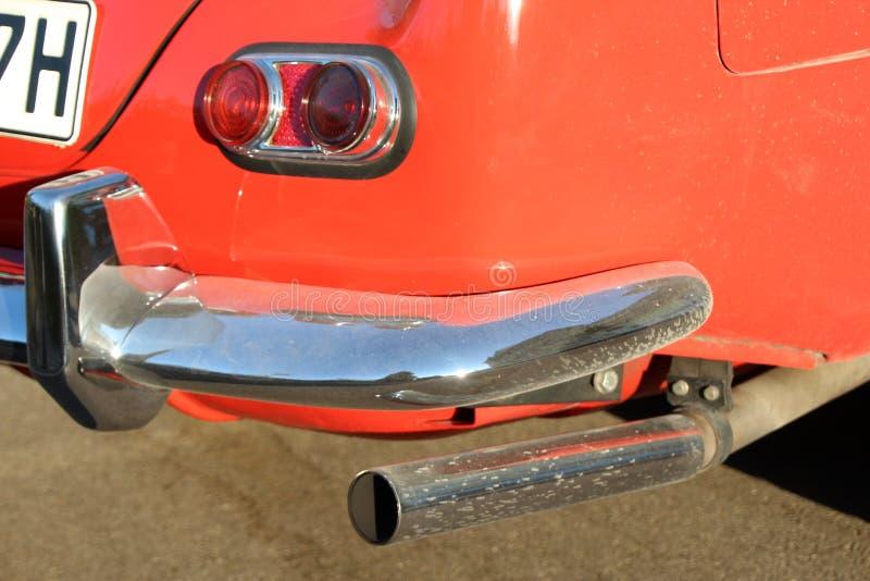 Car, Motor Vehicle, Red, Bumper royalty free stock image