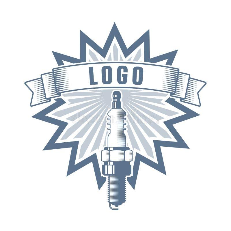 Motor service logo stock image