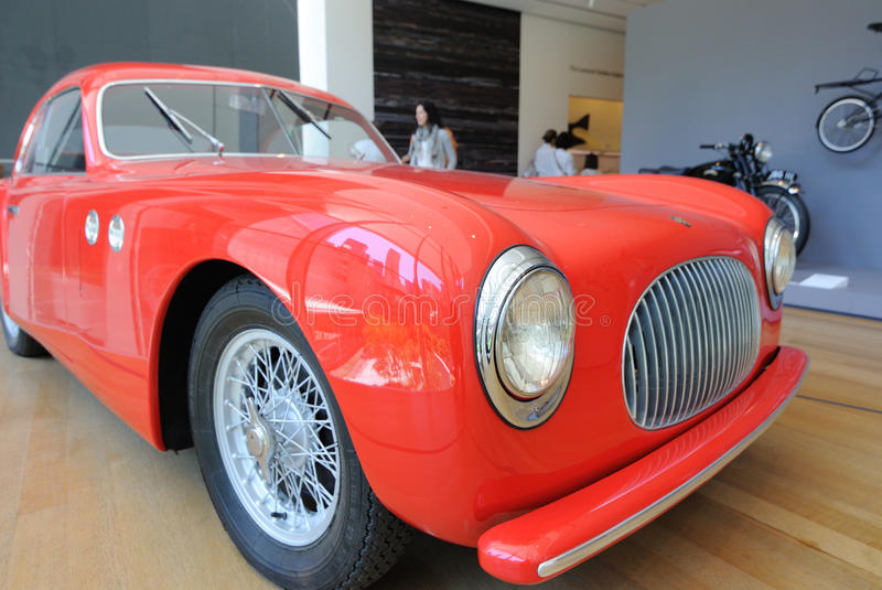 Download Car At Museum Of Modern Art Editorial Photography - Image: 14851367