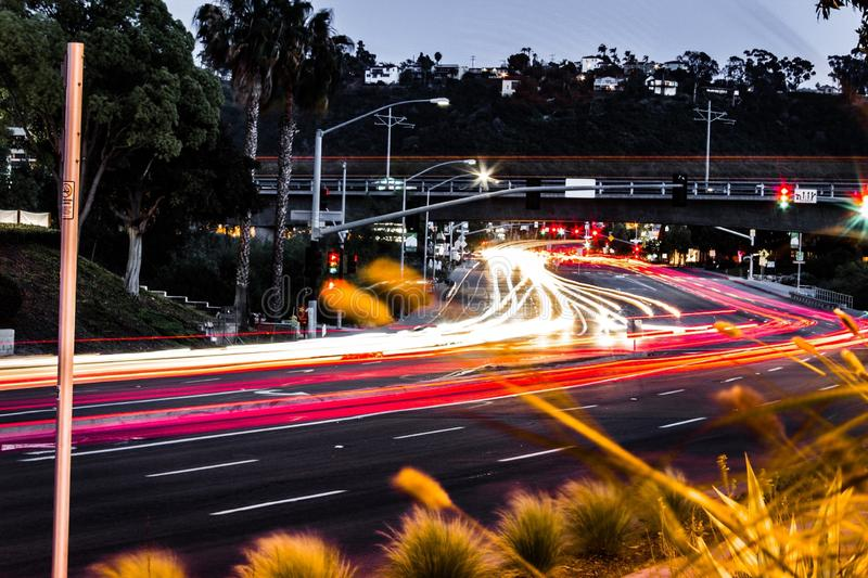 Car, Night, Road, Infrastructure stock images