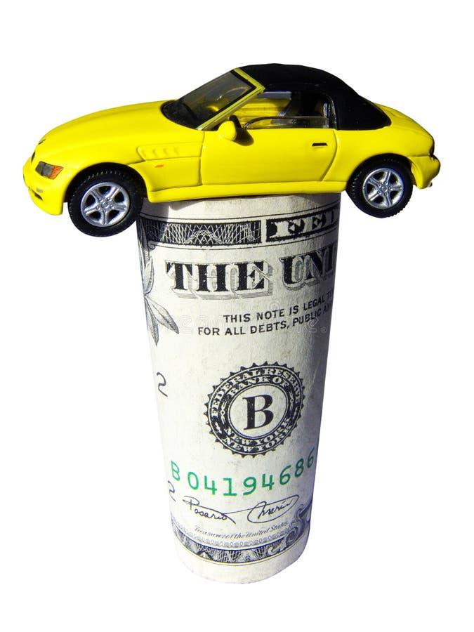 Free Car On Dollar Stock Photos - 6353123