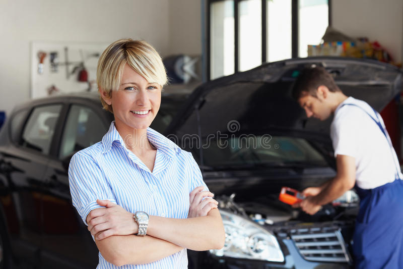 Download Car owner stock image. Image of happiness, engine, looking - 10196071