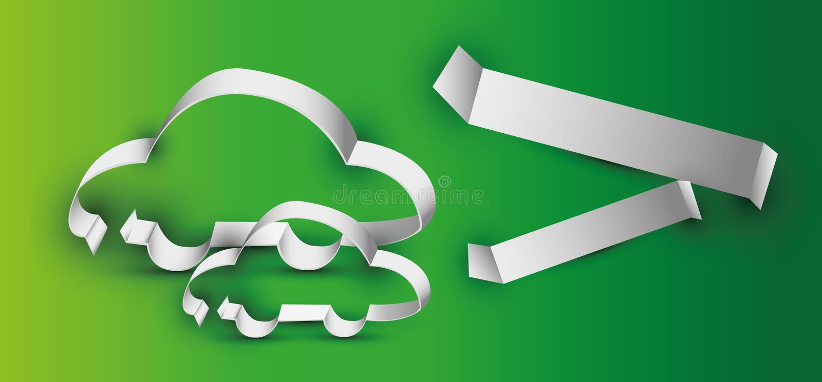 Download Car stock vector. Illustration of puzzle, speed, paper - 31261239