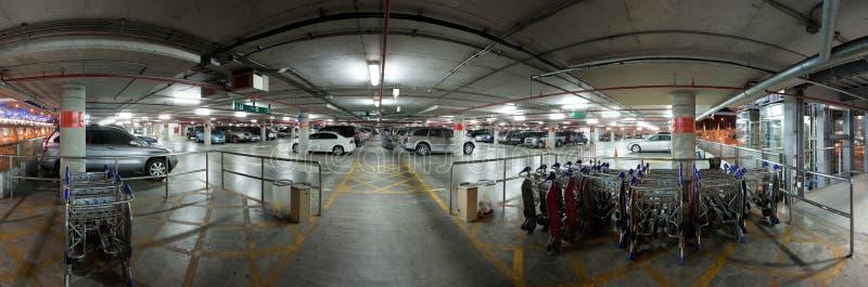 Car park. An undercroft car park. Thailand stock images