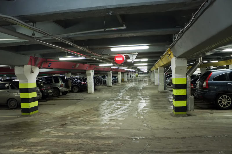 Download Car parking stock photo. Image of structure, equipment - 12872566
