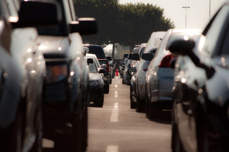 Download Car Parking stock image. Image of motorcar, busy, city - 15318559