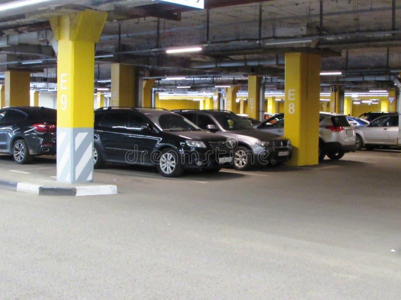 car parking fotografering för bildbyråer