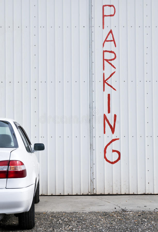 Download Car Parking place stock image. Image of white, place - 39501285