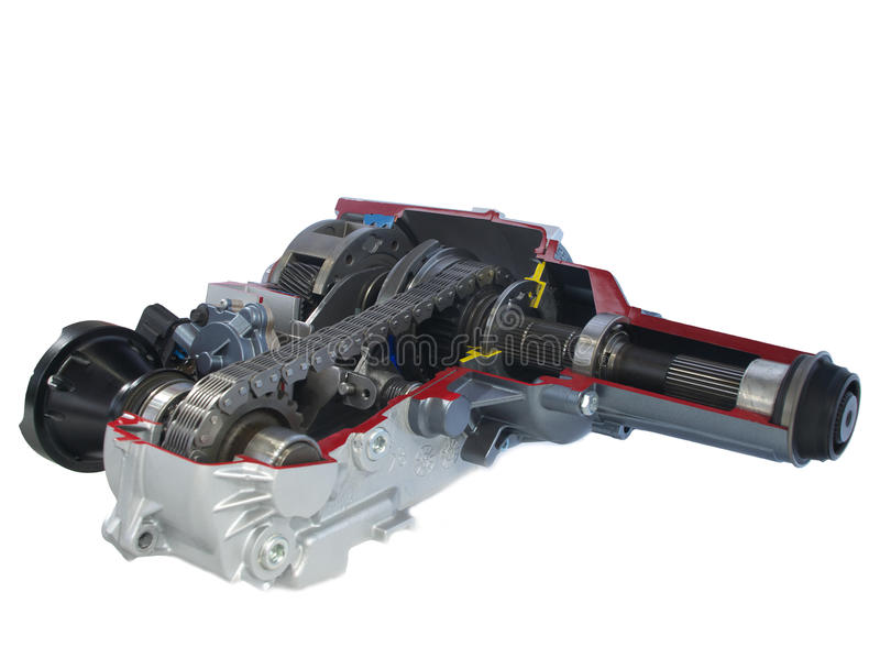 Download Car Parts: Transfer Case - Electric Shift Stock Image - Image: 14097773
