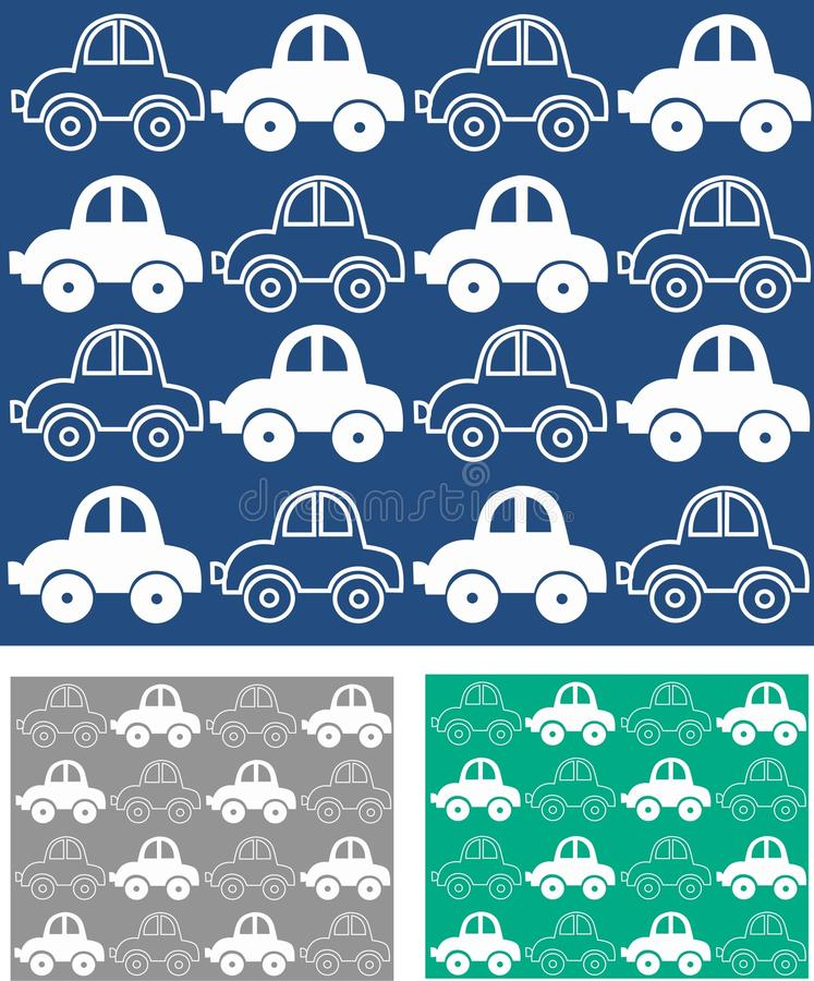 Free Car Pattern Seamless Stock Images - 14565404