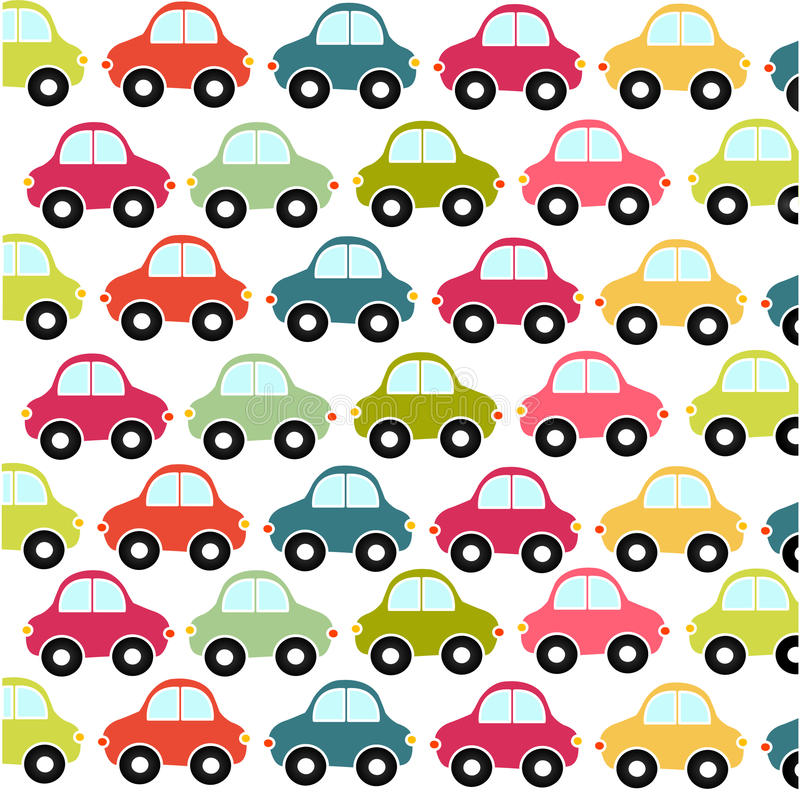 car pattern wallpaper stock vector illustration of child 13642958