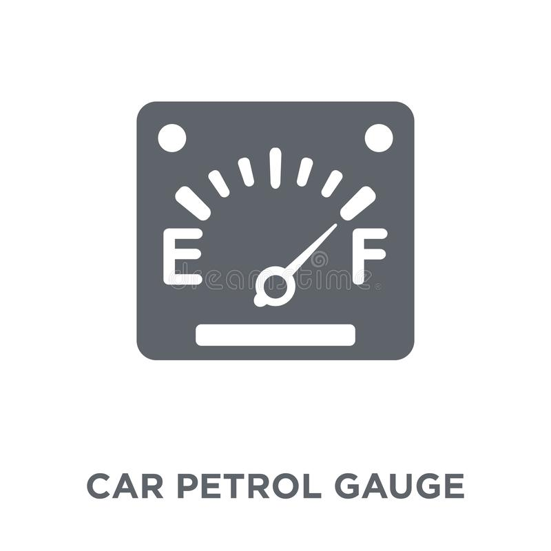 car petrol gauge icon from Car parts collection. vector illustration