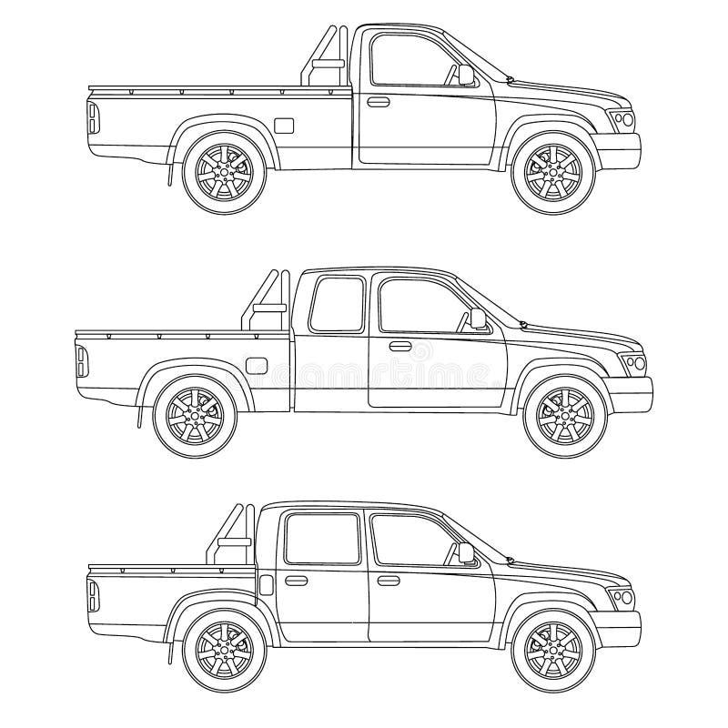 Car pickup truck vector illustration stock vector illustration of download car pickup truck vector illustration stock vector illustration of four passage 70389532 malvernweather Images