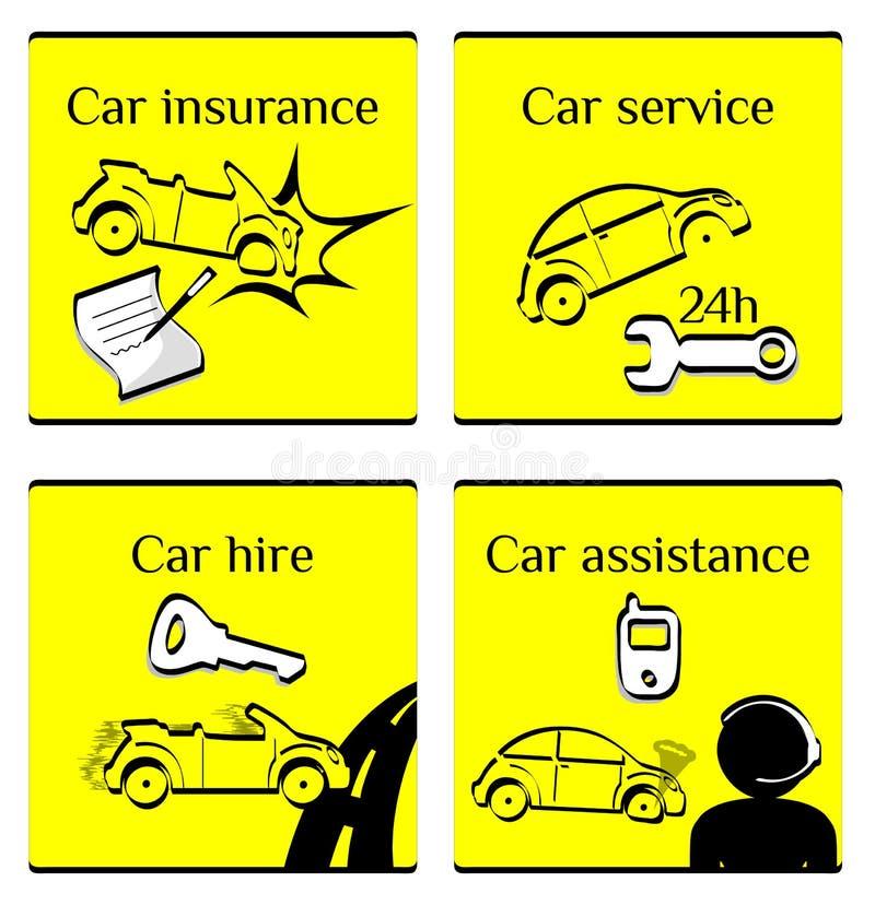 Download Car pictogram set stock vector. Illustration of illustration - 20192602