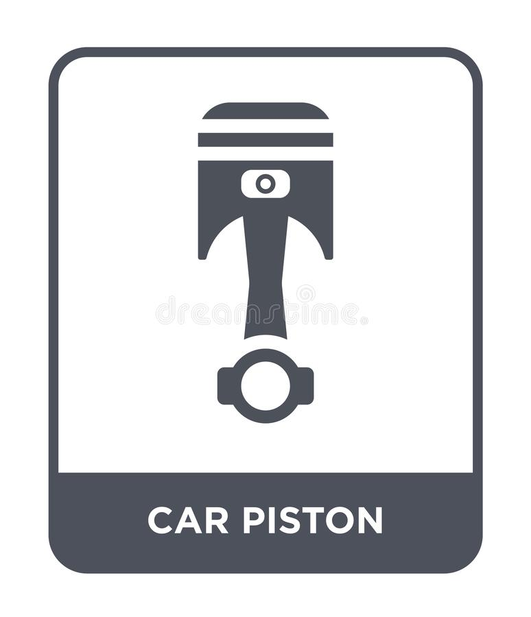car piston icon in trendy design style. car piston icon isolated on white background. car piston vector icon simple and modern royalty free illustration