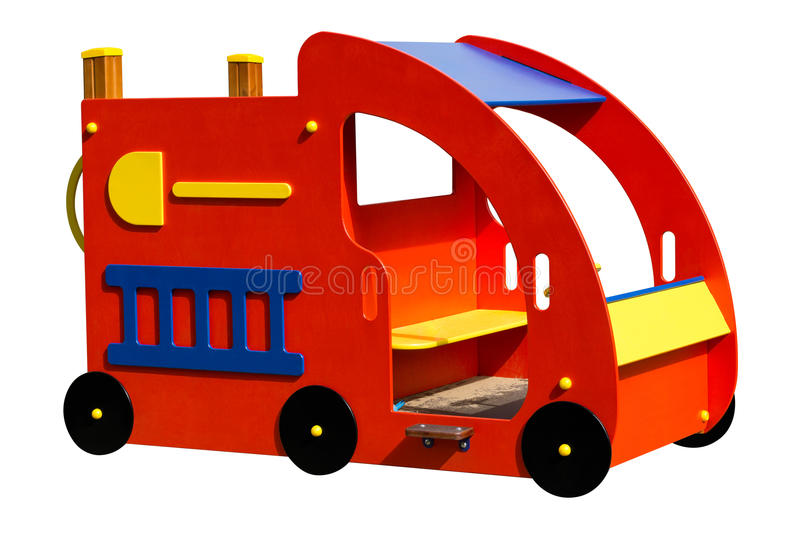 Car for playground royalty free stock image